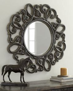 find this pin and more on mirrors decorative - Decorative Mirrors