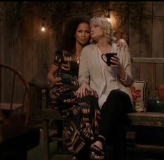♥️ Stef and Lena ♥️ Adam Foster, Foster Family, Sex And Love, My Love, Teri Polo, Switched At Birth, Cute Couples, The Fosters, Lgbt