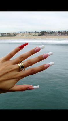 Tävlingsnaglar, competition nails,  French Manicure, Karin Ström.