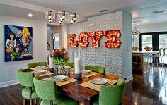 Wayside - modern - Dining Room - Austin - Bryant Hill Media