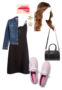 """""""summer"""" by sabina996 on Polyvore featuring Sandro, 7 For All Mankind, Keds, Forever 21, Lulu*s, NYX, Rebecca Minkoff, women's clothing, women and female"""