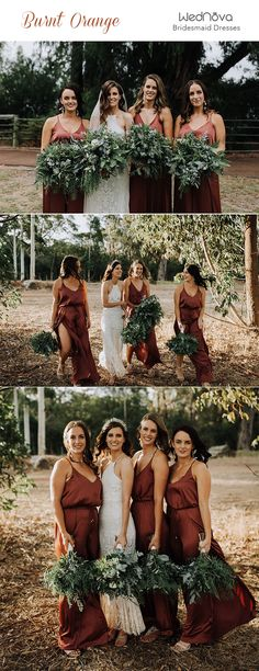 - Simple Spaghetti Straps Cheap Burnt Orange Bridesmaid Dresses – SposaBridal Source by sposabridalsshop - Bridesmaid Dresses Long Champagne, Turquoise Bridesmaid Dresses, Discount Bridesmaid Dresses, Bridesmaid Gowns, Bridesmaids, Wedding Dresses, How To Dress For A Wedding, Engagement Photos, Spaghetti Straps
