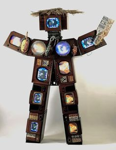 Korean artist Nam June Paik lives and works in New York, teaches at Staatliche Kunstakademie, Dusseldorf, and has a second home in Bad Kreuznach