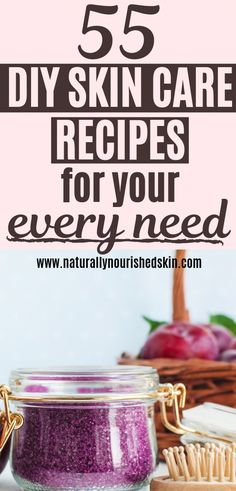 55 DIY Skin Care Recipes for a Natural Skin Care Routine #diyskincare #skincareroutine #diybeauty #SkinCareRoutineFor20S Face Skin Care, Diy Skin Care, Skin Care Tips, Skin Tips, Make Natural, Natural Beauty, Skin Care Routine For 20s, Skincare Routine, Skin Care Routine Natural