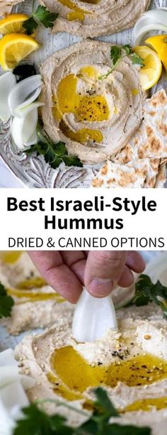 Make your own hummus the easy way with pantry staples! This delicious high protein recipe is a perfect vegan and glute. Best Vegetarian Recipes, Whole Food Recipes, Snack Recipes, Healthy Recipes, Vegan Snacks, Healthy Snacks, Protein Snacks, Eating Healthy, Clean Eating