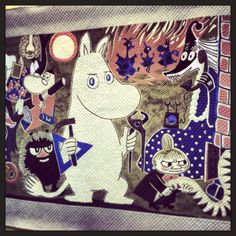Moomin! From Tokyo International Quilt Show 2014 - My Craft Land Diary