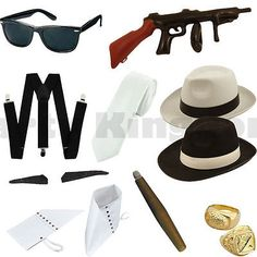 1920s 20s mens #gangster mafia pimp fancy #dress #accessories, View more on the LINK: http://www.zeppy.io/product/gb/2/222123941005/