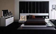 juegos de habitaciones matrimoniales con cama bajita - Buscar con Google