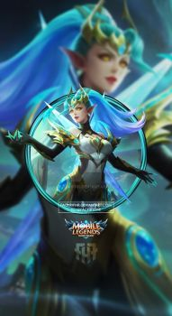 Wallpaper Phone Karina Zodiak Gemini Halo By Fachrifhr Mobile Legend Wallpaper Alucard Mobile Legends Miya Mobile Legends