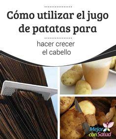 Cómo utilizar el jugo de patatas para hacer crecer el cabello  Entre todos los problemas capilares que afectan hoy en día a hombres y mujeres, la caída continúa ocupando el primer lugar.