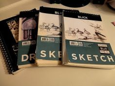 ▶ My Sketchbooks 2012-2013 - YouTube