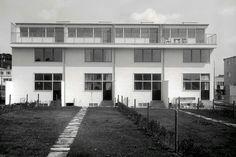 Vienna Werkbundsiedlung, House 53-56, Gerrit Rietveld, 1932, Modernist Architecture