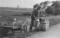 Afbeeldingsresultaat voor boerenleven van vroeger