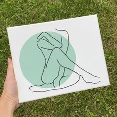 Hippie Painting, Mini Canvas Art, Silhouette Art, Hand Art, Embroidery Art, Diy Art, Art Projects, Creations, Paintings
