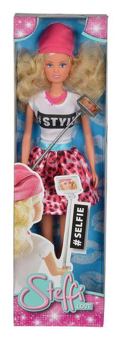 "Simba 105738049 Doll ""Steffi Love - Selfie"""