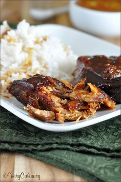 Slow Cooked Pork with Orange Marmalade | Very Culinary