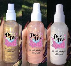 """""""DEW ME"""" Rose Water Priming and Setting Mist"""