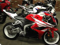 2012 Honda CBR 600RR (love the white rims) Please follow: http://pinterest.com/treypeezy http://treypeezy.com