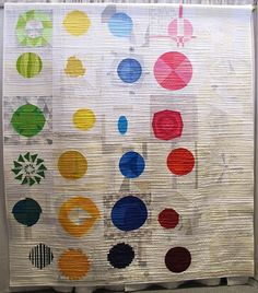 Twisted Sisters Quilt by Stephanie Ruyle and the Denver Metro Modern Quilt Guild | The Plaid Portico