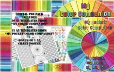 My Color Companion PDF pack of Templates