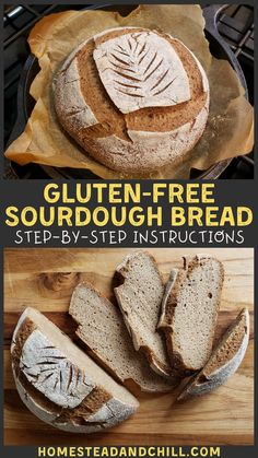 No gluten? No problem. Learn how to make wholesome gluten-free sourdough bread at home! The final loaf is airy, soft, slices easily, & toasts to perfection. Gluten Free Sourdough Bread, Gluten Free Pumpkin Bread, Sourdough Recipes, Gf Recipes, Gluten Free Recipes, Bread Recipes, Gluten Free Homemade Bread, Gluten Free Buckwheat Bread, Best Gluten Free Bread