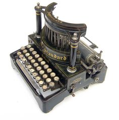 Salter typewriter, early 1900s