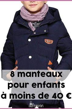 95914b50dc6 8 manteaux pour enfants à moins de 40 €  enfant  manteau  mode