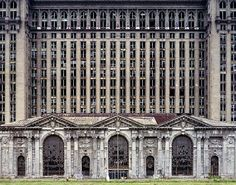 Im just Pin'ing this whole article. Guardian Photos by Marchand and Meffre. Michigan Central Station