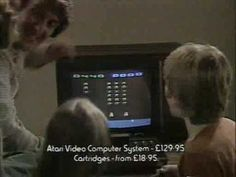 Atari 2600 commercial for Asteroids, Missile Command & Space Invaders