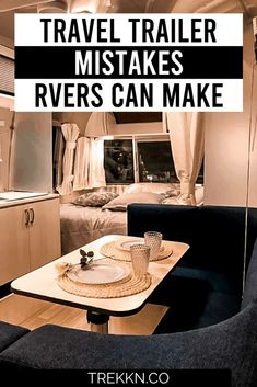 Travel Trailer Living, New Travel Trailers, Travel Trailer Remodel, Rv Trailers, Rv Travel, Rv Camping Tips, Camping Glamping, Camping Packing, Camping Gadgets