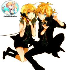 kagamine rin and len - Google Search
