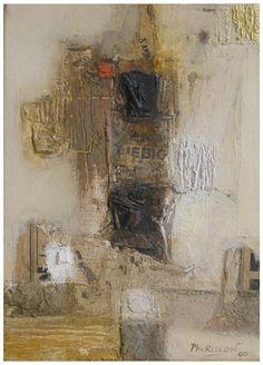 Beaux restes, huile et technique mixte/toile, 33x24cm, 2005.