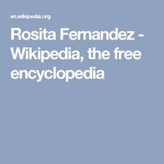 Rosita Fernandez - Wikipedia, the free encyclopedia