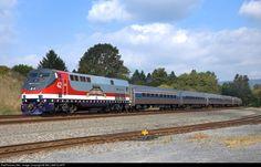 RailPictures.Net Photo: Amtrak 42 Amtrak GE P42DC at Mifflin, Pennsylvania by WILLIAM KLAPP