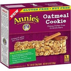 JUST IN: Annie's Chewy Glu.... SHOP NOW! http://www.zapova.com/products/annies-chewy-gluten-free-granola-bars-oatmeal-cookie-12x5-pk?utm_campaign=social_autopilot&utm_source=pin&utm_medium=pin