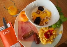 Breakfast buffet in the OO! — the cafe at BLOOM! hotel. #Brussels #Belgium