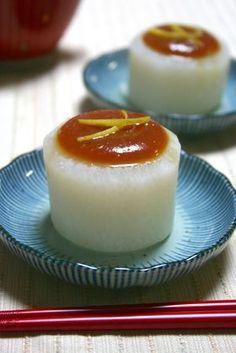 Furofuki Daikon - Simmered Daikon Radish with Miso Sauce