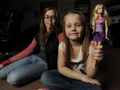 Emma Ermel's Barbie collection is too big to count, but none of the dolls have come with the accessories she's eager to see — an insulin pump, blood sugar meter and other essential items for diabetic girls like her.