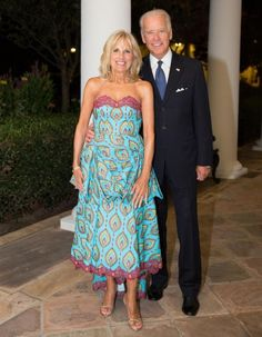 Dr. Jill Biden and Vice President Joe Biden at the White House on Tuesday August 5, 2014. (Official White House Photo by David Lienemann)