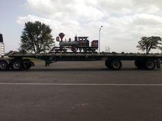 Towanda Kansas truck stop on the Kansas Turnpike. Trucker said it was heading to a park in Washington DC. June 2014