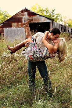 Wrapped in a cowboy's arms. Source: texascountrygirl