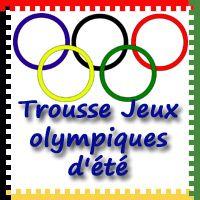 Free Summer Olmpics Pack in French - Jeux olympiques d'été en Français - 3Dinosaurs.com  Traduction française par glitteringmuffins.com