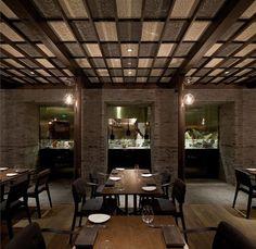 Capo Restaurant - Shanghai   Neri&Hu Design and Research Office   Photography © Shen Zhonghai.