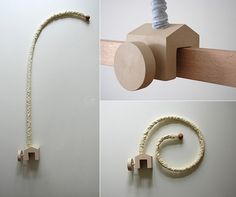 HOME wooden mobile arm holder by Xmarynka on Etsy