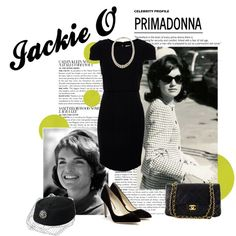 Jackie O', created by georginabrown on Polyvore