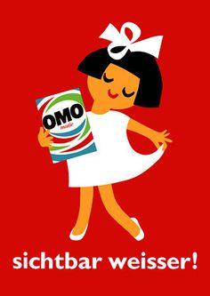 "Omo ""Visibly Whiter!"""