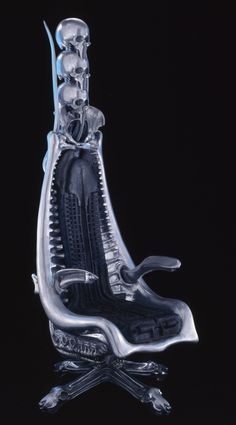 ☆ H.R. Giger Chair ☆ Can I buy this? Please tell me I can buy this.
