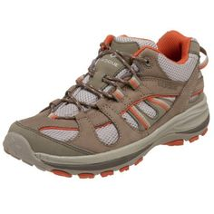 Vasque Women's Amphora Light Hiking Shoe,Brindle/Burnt Orange,6 M by Vasque. $48.95. Leather and mesh. From the Manufacturer                At Vasque, they are committed to making functional, innovative and aesthetic footwear that performs to the highest standards. Their ultimate goal is to make shoes that inspire you to get outdoors and embark on an adventure. Incorporating and developing new and innovative technologies into their boots is what keeps Vasque at the top of thei...