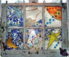 Sea Glass Art Projects   Kathleen DesHotel After acquiring windows from the Green Project in ...