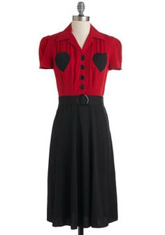 Retro Revamp Dress in Heart, #ModCloth
